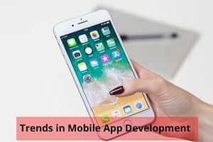 Trends in mobile app development